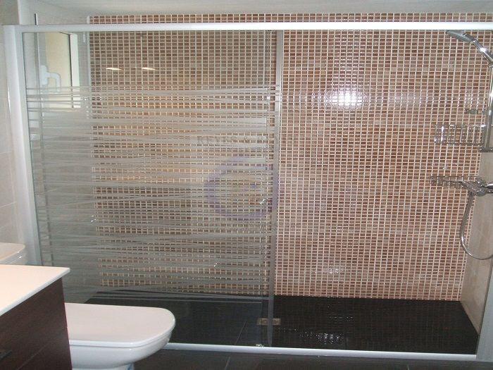 Baño Con Ducha De Obra:Reforma integral de baño con ducha de obra